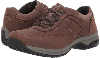 Dunham Lexington Mudguard Oxford Waterproof (Dark Brown) Men's Lace up casual Shoes