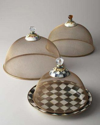 Mackenzie Childs MacKenzie-Childs Large Courtly Check Mesh Dome