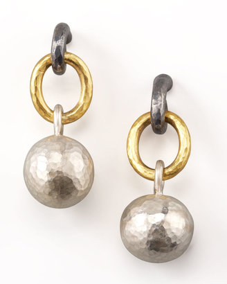 Gurhan Mixed-Metal Ball-Drop Earrings