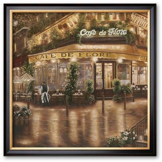 "KitchenArt Art.com ""caf é de flore"" framed art print by betsy brown"