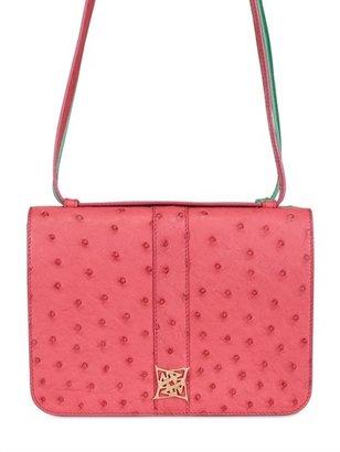 Gemini Ostrich Double Bag