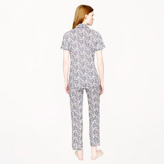 J.Crew Liberty short-sleeve pajama set in June's Meadow floral