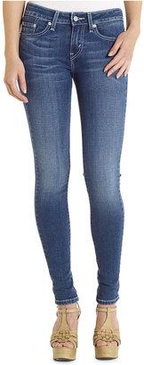 Levi's Juniors' 535 Skinny Leggings, Medium Wash