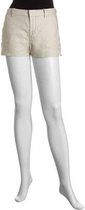 Joie Gina Twill Linen Shorts