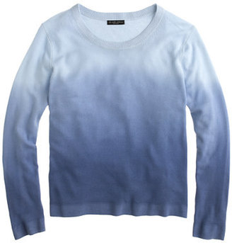 The Elder Statesman for J.Crew blurred cashmere crewneck sweater