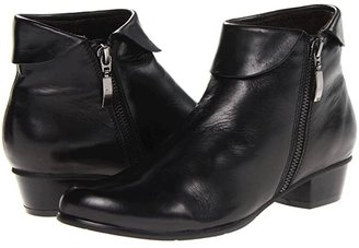 Spring Step Stockholm (Black) Women's Zip Boots