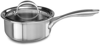 KitchenAid 1.5-qt. Stainless Steel Copper Core Sauce Pan with Lid