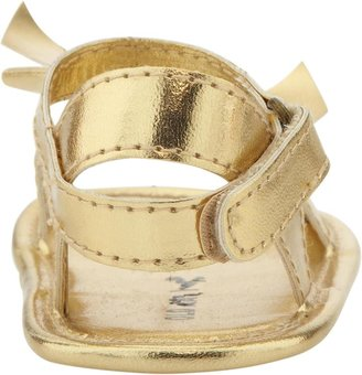Old Navy Metallic Bow-Tie Sandals for Baby