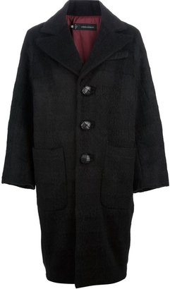 DSquared DSQUARED2 single-breasted cocoon coat