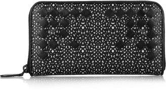 Bottega Veneta Laser-cut leather wallet