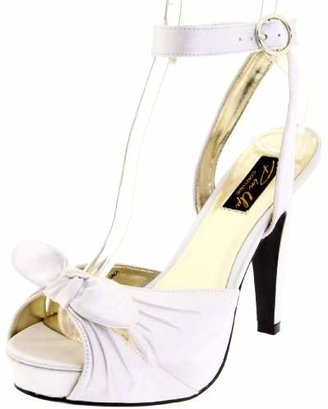 Pleaser USA Women's Bettie-04/IV Ankle-Strap Sandal
