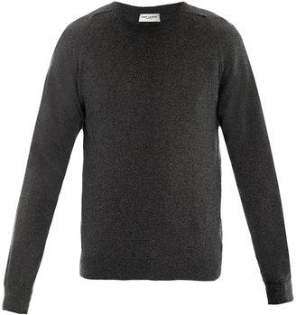 Saint Laurent Crew-neck cashmere sweater