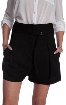 Helmut Lang Cove Suiting High Waist Shorts