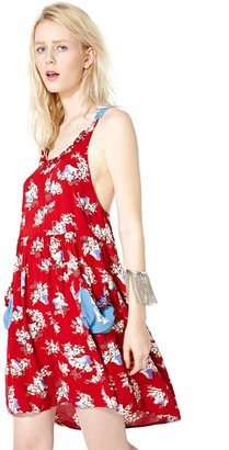 Nasty Gal Strawberry Fields Dress