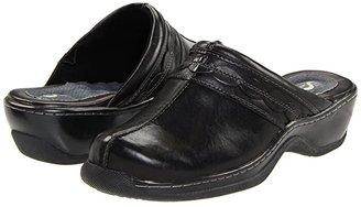 SoftWalk Abby (Black) Women's Clog/Mule Shoes