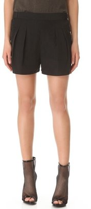 Theyskens' Theory Panther Flacky Shorts
