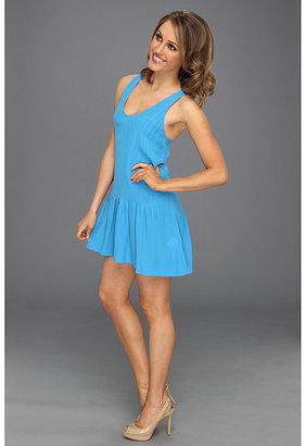 Joie Topaz Silk Pintuck Dress