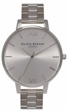 Olivia Burton Analog Big Dial Stainless Steel Bracelet Watch