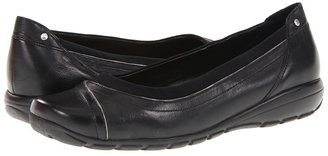 Easy Spirit 7Arminta Leather (Black Multi Leather) - Footwear