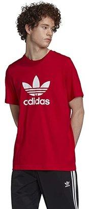 adidas Trefoil Tee (Medium Grey Heather) Men's T Shirt