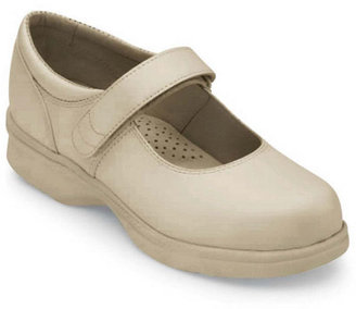 Propet Womens Leather Mary Jane Walker Shoes