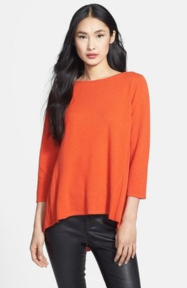 Nordstrom Cashmere Swing Pullover