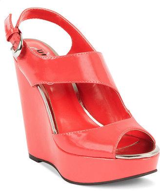 Unlisted Shoes, Bendable Platform Wedge Sandals