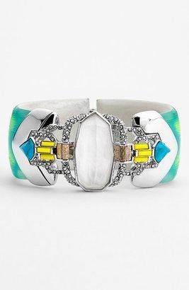 Alexis Bittar 'Lucite® - Neon Deco' Wide Bracelet