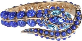 Roberto Cavalli Bracelet Snake Stones
