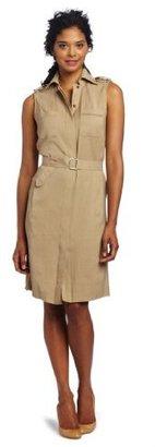 Anne Klein Collection Women's Safari Sleeveless Dress