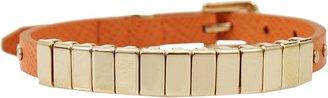 Michael Kors JEWELRY Slider Leather Strap Bracelet