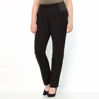 La Redoute Collections Plus High Waist Straight Trousers, Length 30.5""
