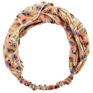 Charlotte Russe Abstract Floral Twisted Headwrap
