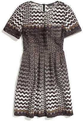 Madewell Chevron dress