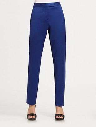 Alexander Wang Silk-Rich Skinny-Leg Pants
