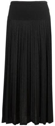 Topshop Pleat Maxi Skirt