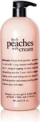 philosophy Jumbo Fresh Peaches with Cream Shower Gel