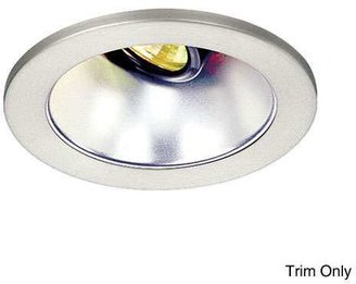 W.A.C. Lighting 4 Inch Premium Low Voltage Open Reflector Square Trim - 35° Adjustment from Vertical - HR-D412