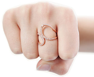Singer22 Alex Mika Infinity Ring in Rose Gold