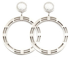 Roial Signs Earrings Silver