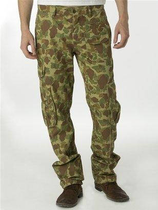 Multi Pocket Camo Cargo Pant