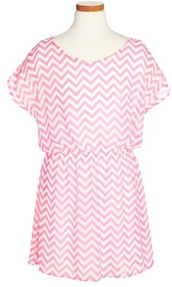 Sally Miller Chiffon Dress (Big Girls)