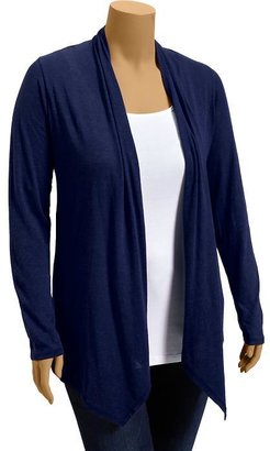 Old Navy Women's Plus Open-Front Jersey Cardis