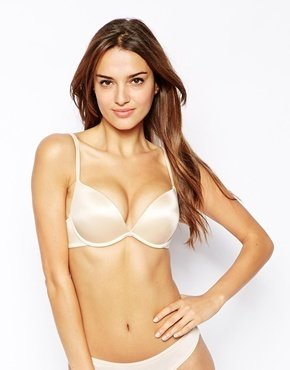 Ultimo Double Boost Padded Plunge Bra - Nude