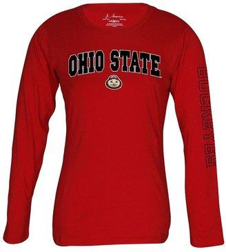 Ohio state buckeyes tee - women