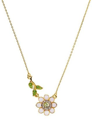 Juicy Couture Daisy and Vine Wish Necklace