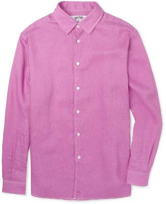 Mustique Pink House Linen Shirt