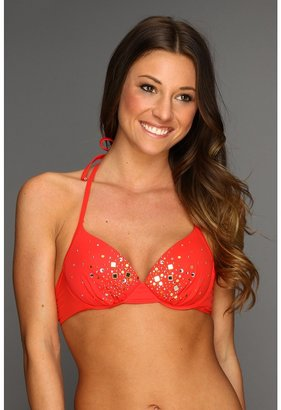 GUESS Set In Stones Underwire Bra (Red) - Apparel
