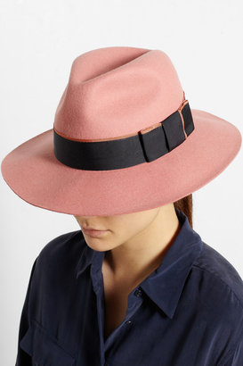 Karl Lagerfeld Wool-felt fedora