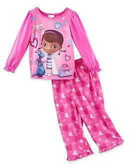 Disney Girls' 2T-4T Pink 2-pc. Cutest Caretaker Pajama Set